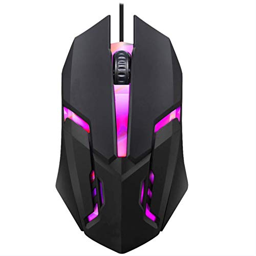 Gaming Mouse Wired, Wired Gaming Mouse, Mouse with Button RGB Optical High Performance Wired Mouse for Laptop