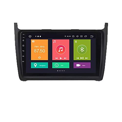Pantalla Android 10 pulgadas, adecuada para la navegación del automóvil de control central modificado por Volkswagen Polo Golf Passat, unidad de audio de radio estéreo de automóvil, DSP integrado,Px6