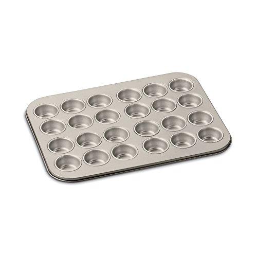 Cuisinart Chef's Classic Non-Stick 24-Cup Mini Muffin Pan-Bronze