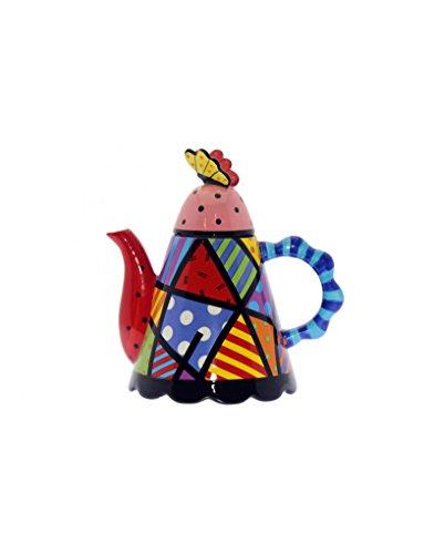 Casa & Mas theepot van keramiek. Kleuren en vormen