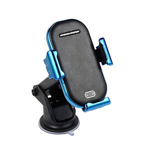 UJUNAOR UJUNAOR Halter Halterung Lade für Qi Wireless Ladegerät Dock Car Holder Infrarot für iPhoneXS/Samsung S10 aufladen