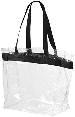 Set van 2 transparante schoudertassen draagtas strandtas