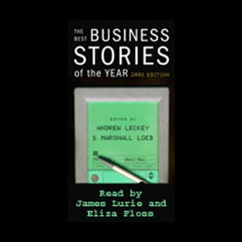 The Best Business Stories of the Year, 2001 Edition audiobook cover art