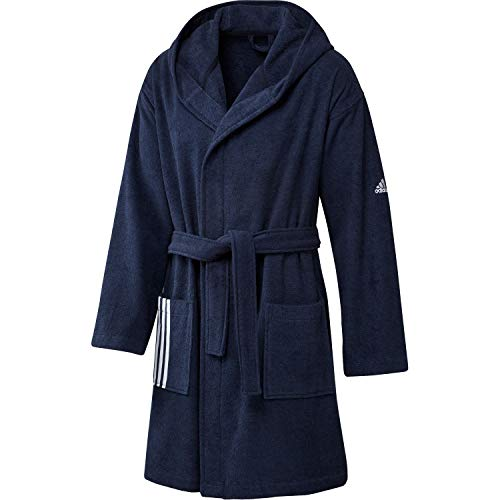 adidas Unisex-Adult Bathrobe Badematel, Tech Indigo, L