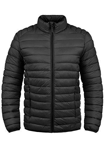 Blend Nils Herren Steppjacke Übergangsjacke Jacke mit Stehkragen, Größe:XL, Farbe:Black (70155)