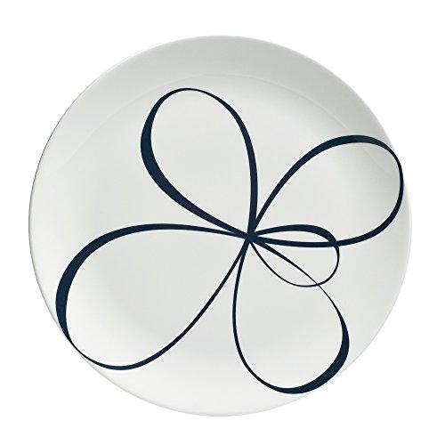 "Wedgwood Glisse Salad Plate, 9"", White"