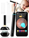 BEBIRD Ear Wax Removal Tool, Wireless Ear Cleaner with Camera, 1080P FHD Ear Wax Remover Endoscope with LED Light, Ear Cleaner Tool for iPhone, iPad & Android Smart Phones