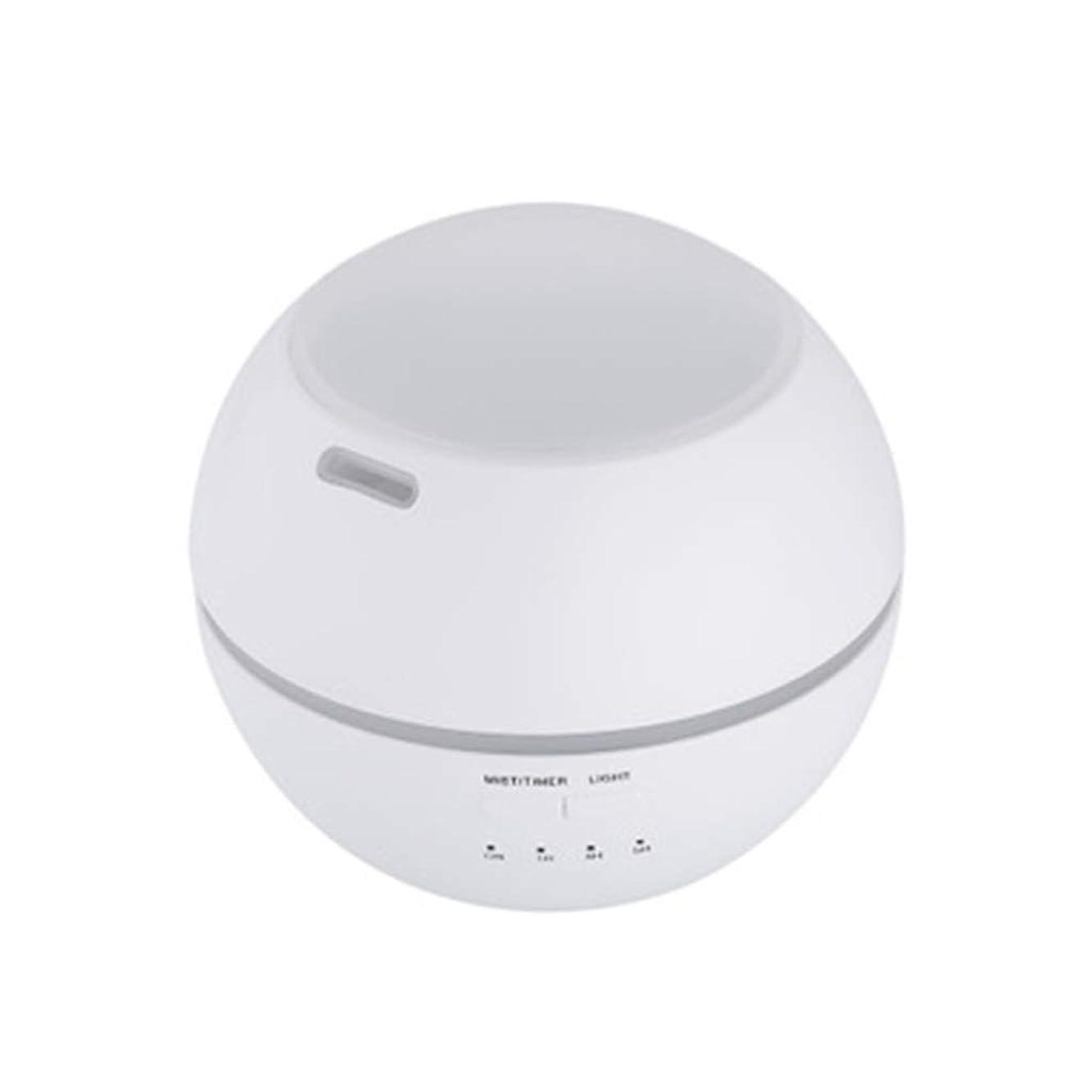 不平を言う実験室海洋マルチライトマシンクリエイティブ超音波加湿器ランプ家庭用必須ディフューザーギフト (Color : White)