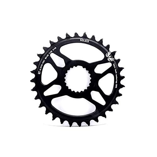 MENGGOO 32T 34T 36T 38T 40T Cainado de Bicicleta MTB Cadena de Bicicleta de Ancho Estrecha para Deore XT M7100 M8100 M9100 12S CISTA (Color : 32T)