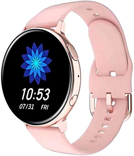 Reloj inteligente de llamada con Bluetooth, reloj inteligente, frecuencia cardíaca, presión arterial, reproducción de música, actividad física, reloj deportivo, color rosa