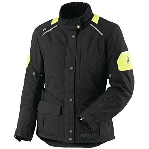 Scott Turn TP Damen Motorrad Jacke schwarz/gelb 2016: Größe: 46