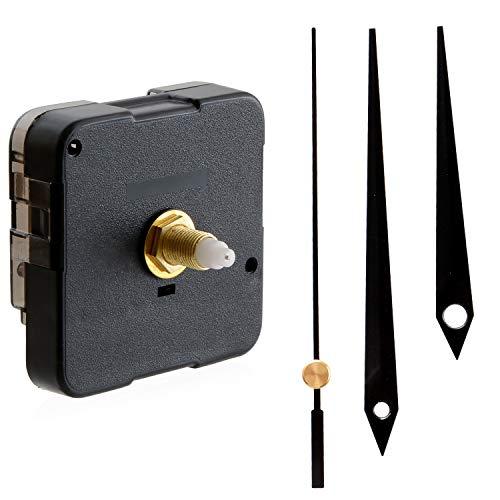 [Uppers] 時計 ムーブメント (交換・クラフト用) パーツ 部品 セット 『 掛け時計 壁掛け時計 などの修理・交換に! 』 (Type D)