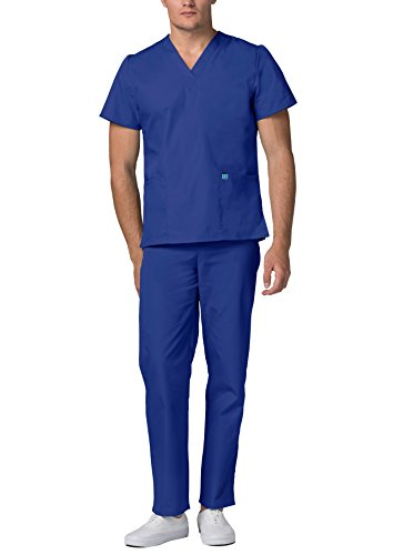 Adar Universal Medical Scrubs Set Medical Uniforms – Unisex Fit – 701 – RYL -2X - 2