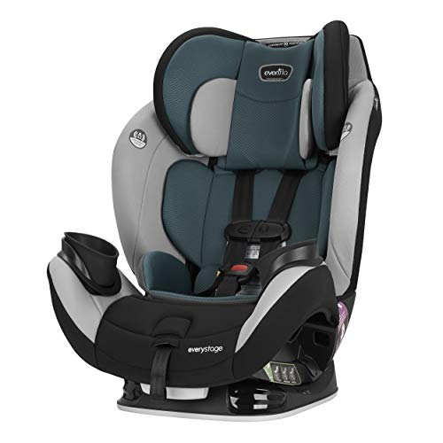 Evenflo EveryStage LX All-in-One Car Seat, Convertible Baby Seat, Convertible & Booster Seat, Grows with Child Up to 120 lbs,...