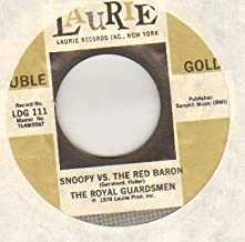 ROYAL GUARDSMEN - SNOOPY VS THE RED BARON - US reissue - 7 inch vinyl / 45 record