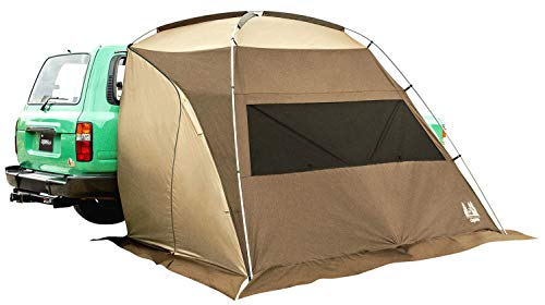 ogawa(オガワ) テント シェルター型 カーサイドシェルター [車高170~200cm向け] 2336 ブラウン