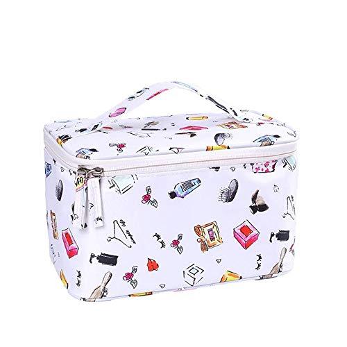 Cosmétique Sac Femmes Voyage Make Up Nécessaires Organisateur Zipper Maquillage Étui Pochette Trousse De Toilette Bags24 * 16 * 14cm-White_Perfume_24 * 16 * 14cm