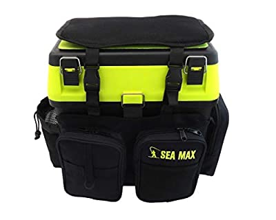 SEA MAX© Seat Box & Rucksack. Tackle Seat Box. Sea Fishing Seat Box. from Roddarch