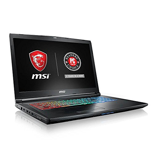 MSI GP62MVRX Leopard Pro-661 15.6' 94%NTSC Thin and Light Gaming Laptop GTX 1060 3G Core i7-7700HQ 16GB 256GB NVMe SSD + 1TB Full Color Keyboard (Renewed)