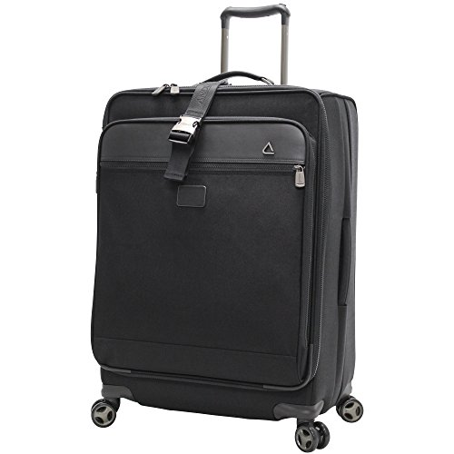 Andiamo Avanti Collection 28 Inch Expandable Spinner, Midnight Black, One Size