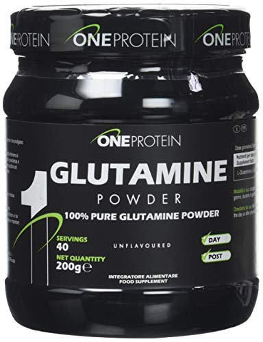 Glutamine Powder integratore alimentare a base di L-Glutammina in polvere (200 grammi)