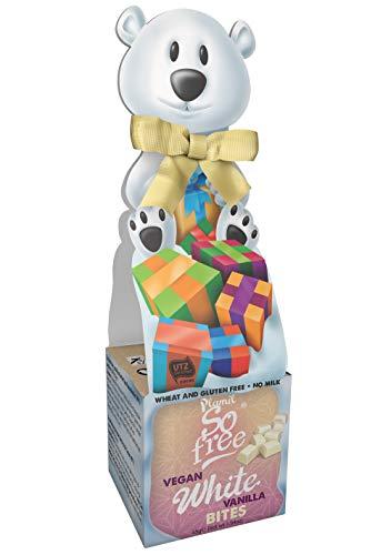 Plamil So Free Polarbär Geschenkbox vegane weiße Schokolade 55g