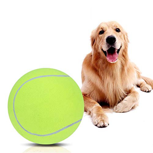 BALLSHOP Dog Tennis Ball 9.5 inch Pet Dog Large Tennis Ball Chew Toys Big...