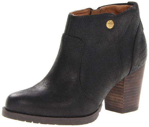 Hot Sale indigo by Clarks Women's Mission Philby Boot,Black,8.5 M US