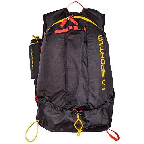 La Sportiva Course Backpack, Mochila Unisex Adulto, Multicolor (Black/Yellow), 24x36x45 cm (W x H x L)