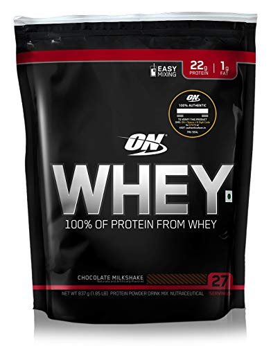 Optimum Nutrition (ON) 100% Whey Protein Powder - 1.85 lbs, 837 g (Chocolate Milkshake)