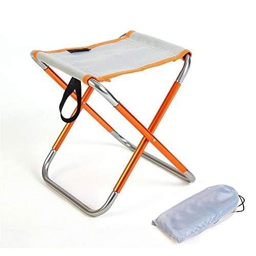 Acampa Plegable del Taburete Plegable Mazar heces Pesca Silla Plegable al Aire Libre Pony Stool Ideal para picnics Camping Playa jardín