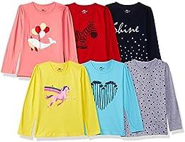 SOUTH SAILOR Girl's T-shirt (Set of 6)