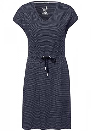 Cecil Damen 142907 Kleid, deep Blue, XL