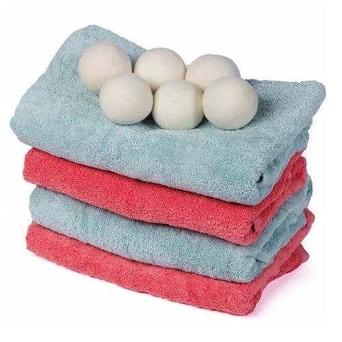 Palline asciugatrice profumate riutilizzabili funzione ammorbidente e igienizzante ecologica bucato togli pelucchi