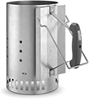 Weber 7416 Skorstenstarter, 19 x 19 x 30.5 cm, Silver