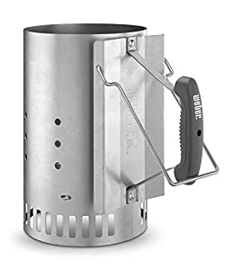 Weber 7416 Rapidfire Chimney Starter for Charcoal Grill