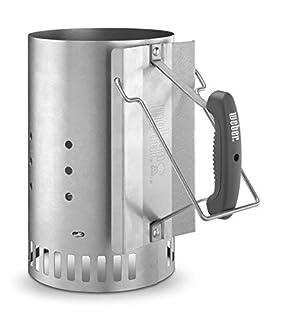 Weber 7416 Rapidfire Chimney Starter (B000WEOQV8)   Amazon price tracker / tracking, Amazon price history charts, Amazon price watches, Amazon price drop alerts