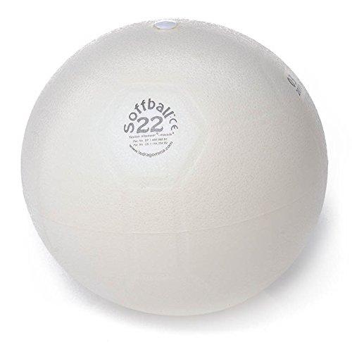Original Pezzi Soffball MAXAFE Gymnastikball Physio Reha Bürostuhl 22 cm weiß