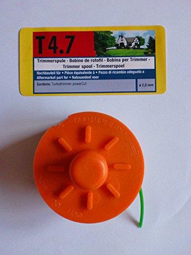 Bobine pour coupe-bordure pour Gardena Power Cut Ø 2 mm T4.7