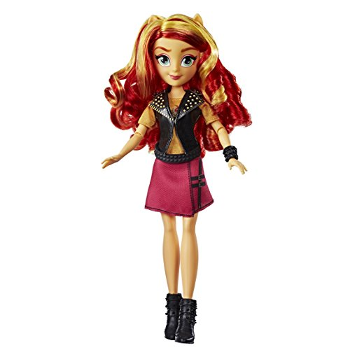 My Little Pony – e0631es0 Equestria Girls Sunset Shimmer estilo clásico muñeca , color/modelo surtido