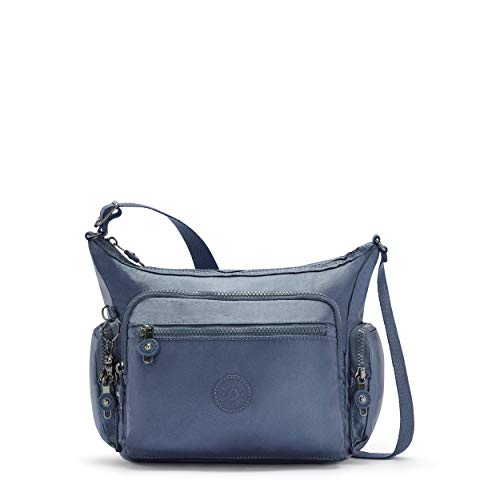 Kipling Women's Gabbie S Crossbody, Midnight Frost, 16.5x29x22 cm