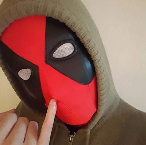 Máscara de Deadpool para disfraz de Halloween