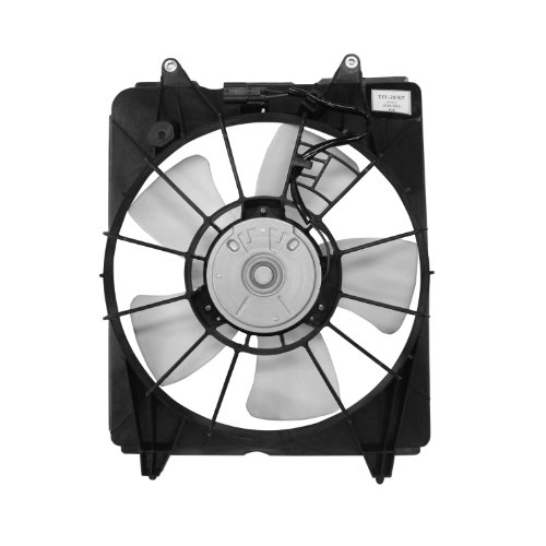 TYC 601330 Compatible with HONDA CR-V Replacement Cooling Fan Assembl