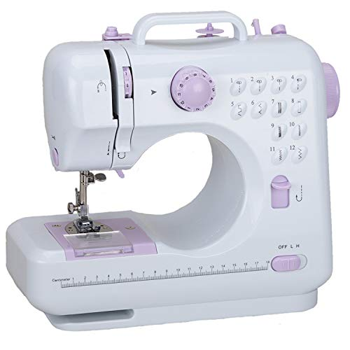 Multifunction Household Sewing Machine 505A 12 Built-in Stitches,Best Electric Sewing Tool for Beginner