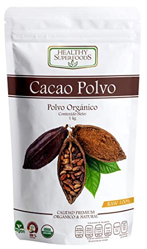 marcas chocolates amargos fabricante Healthy Superfoods