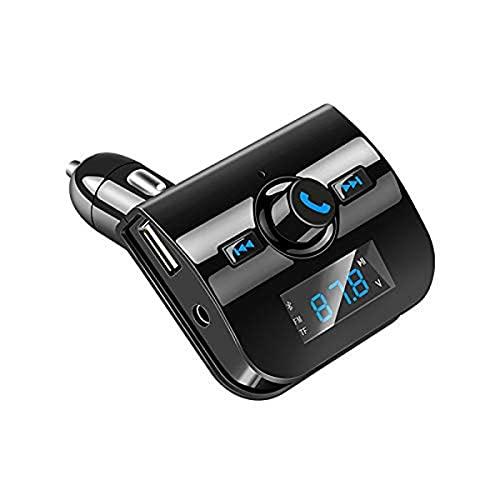 Sändare Bluetooth FM MP3 för Xiaomi Mi 9 SE smarttelefon bilspelare handsfree-förvaring musikadapter A