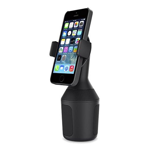 Belkin Kfz-Becherhalterung für Smartphones (Becherhalterung für iPhone12, 12Pro, 12Pro Max, 12 mini, 11, 11Pro, 11ProMax, XSMax, XS, XR, X, SE, 8/8Plus, Samsung, LG, Sony, Google etc.)
