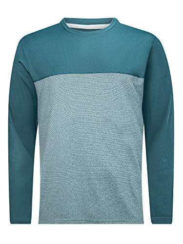 Berghaus Voyager Base Layer Long Sleeve T-Shirt Femme, Signal de fumée, XL