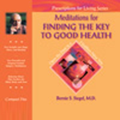 Meditations for Finding the Key to Good Health audiobook cover art