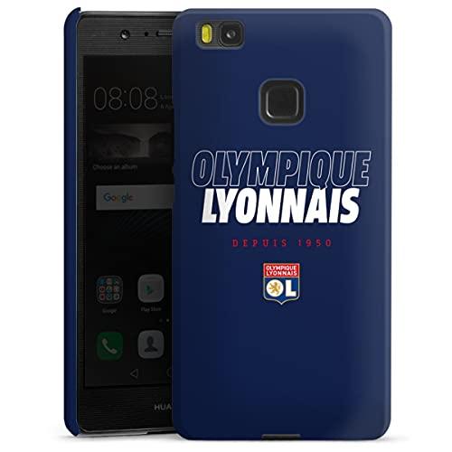 DeinDesign Custodia Premium Compatibile con Huawei P9 Lite (2016) Cover per Smartphone Custodia Opaca Calcio Olympique Lyonnais OL